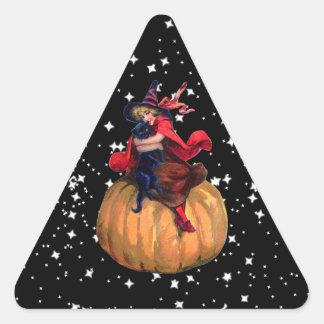 Halloween: La frontera final Pegatina Triangular
