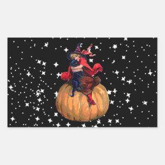 Halloween: La frontera final Pegatina Rectangular
