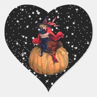 Halloween: La frontera final Pegatina En Forma De Corazón
