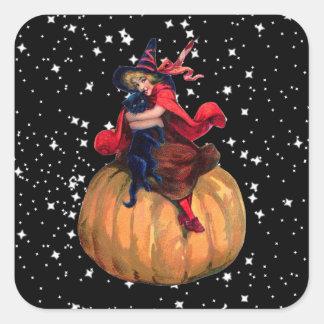 Halloween: La frontera final Pegatina Cuadrada