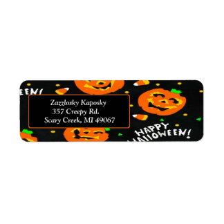 Halloween Label
