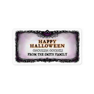 Halloween Label Happy Halloween - A Treat for You