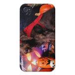 Halloween - LabraDoodle - máximos iPhone 4/4S Fundas