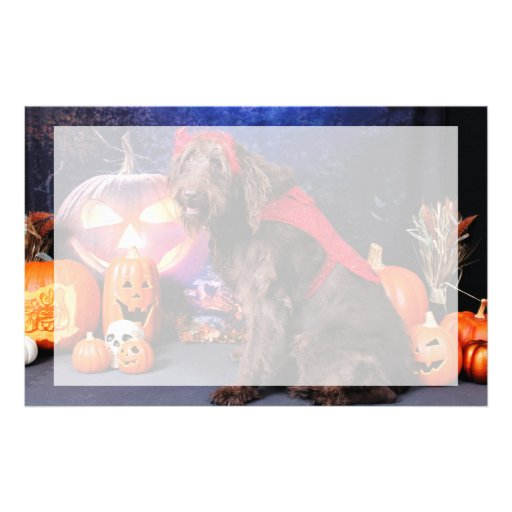 Halloween - LabraDoodle - máximos Papeleria De Diseño