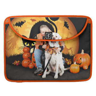 Halloween - Labrador - Cooper MacBook Pro Sleeves