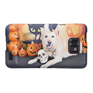 Halloween - Labrador - Lola de oro Samsung Galaxy S2 Carcasas