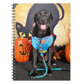 Halloween - Labrador - máximos Libreta Espiral