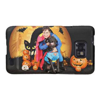Halloween - Labrador - máximos Samsung Galaxy S2 Carcasas