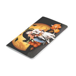 Halloween - Labrador - tonelero Cuadernos