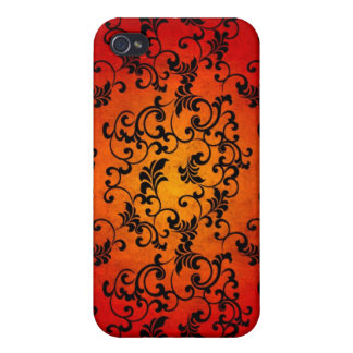 Halloween Lace  Cover For iPhone 4