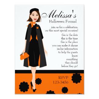 Halloween Lady Card