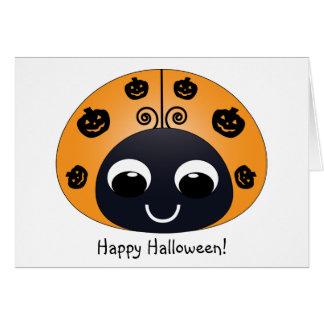 Halloween Ladybug Card