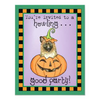 """Halloween Laekenois Invitación 4.25"""" X 5.5"""""""