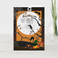 'Halloween Land' Card (With Poem) card
