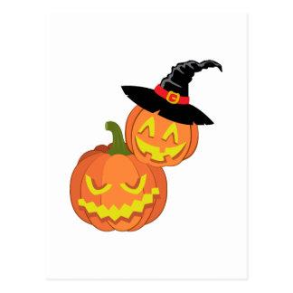 Halloween Lanterns Postcard