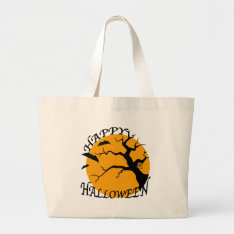Halloween Large Tote Bag at Zazzle