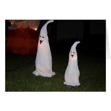 Halloween Themed Halloween Laughing Ghosts Howl O Scream Card Photo