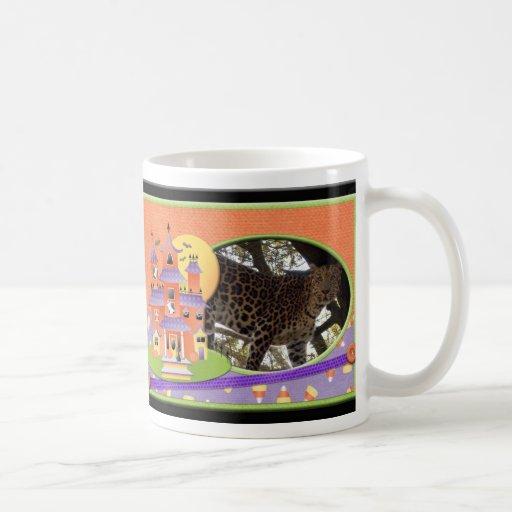 Halloween Leopard Mug
