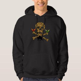 Halloween Leopard Skull Hoodie