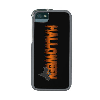 Halloween lettering ghost iPhone 5 covers