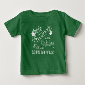 Halloween Lifestyle Chalk Art Baby T-Shirt