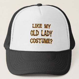 Halloween -like my old lady  costume trucker hat