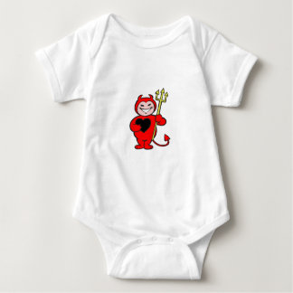 Halloween Lil Devil design Baby Bodysuit