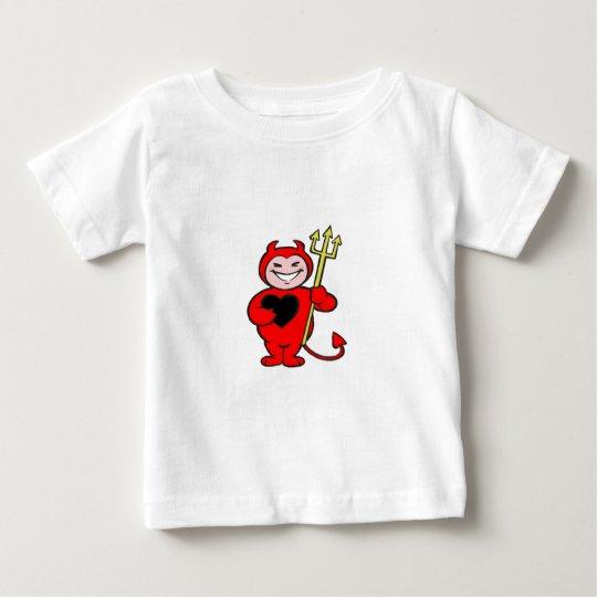 Halloween Lil Devil design Baby T-Shirt