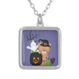 Halloween lindo retro grimpola