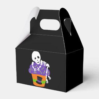Halloween lindo retro paquete de regalo para fiestas