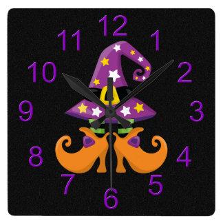 Halloween lindo retro relojes