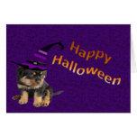 Halloween lindo tarjeta