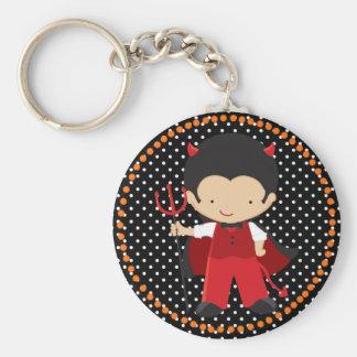 Halloween Little Devil Boy Keychain