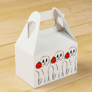 HALLOWEEN LITTLE GHOST AND PUMPKIN favor bag Party Favor Boxes