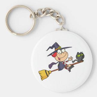 Halloween Little Witch Keychain