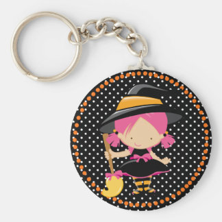 Halloween Little Witch Key Chains