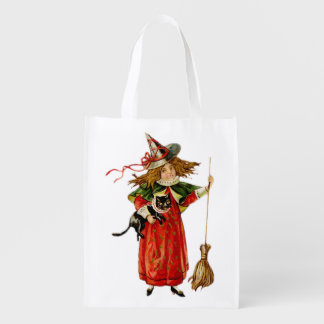 Halloween Littlest Witch Grocery Bag 1