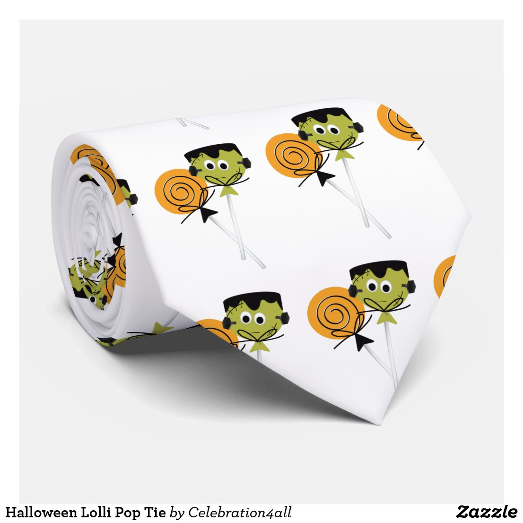 Halloween Lolli Pop Tie