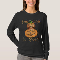 Halloween Longhaired Dachshund T-Shirt