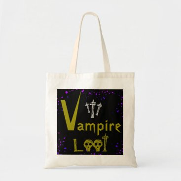 Halloween Themed Halloween Loot Bag - Vampire Loot -