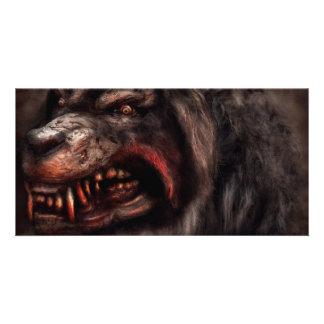 Halloween -  Mad Dog Photo Card