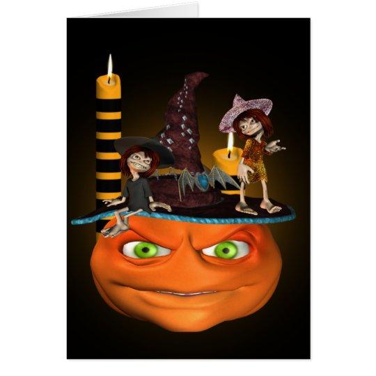 Halloween Madness Card