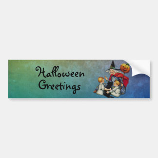 Halloween Magic Bumper Sticker