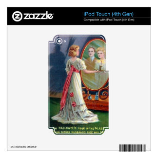 HALLOWEEN MAGIC OCCULT SKINS FOR iPod TOUCH 4G