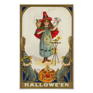 Halloween Magician Poster