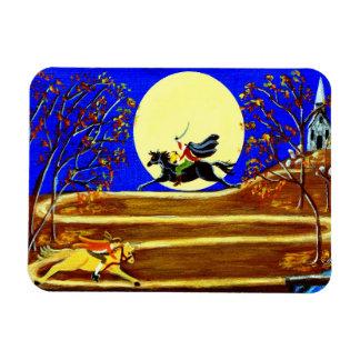 """Halloween magnet """"Ichabod's Race"""""""