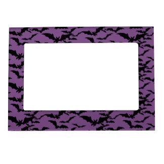 Halloween Magnet Picture Frame-Bats