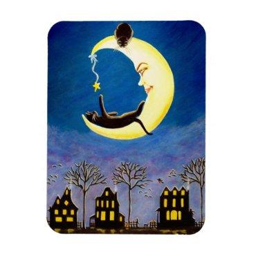 "Halloween Themed Halloween magnet ""Salem's Star"""