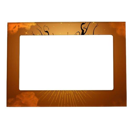 Halloween Magnetic Photo Frames
