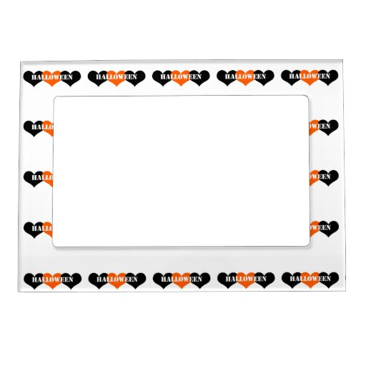 Halloween Picture Frame Magnets